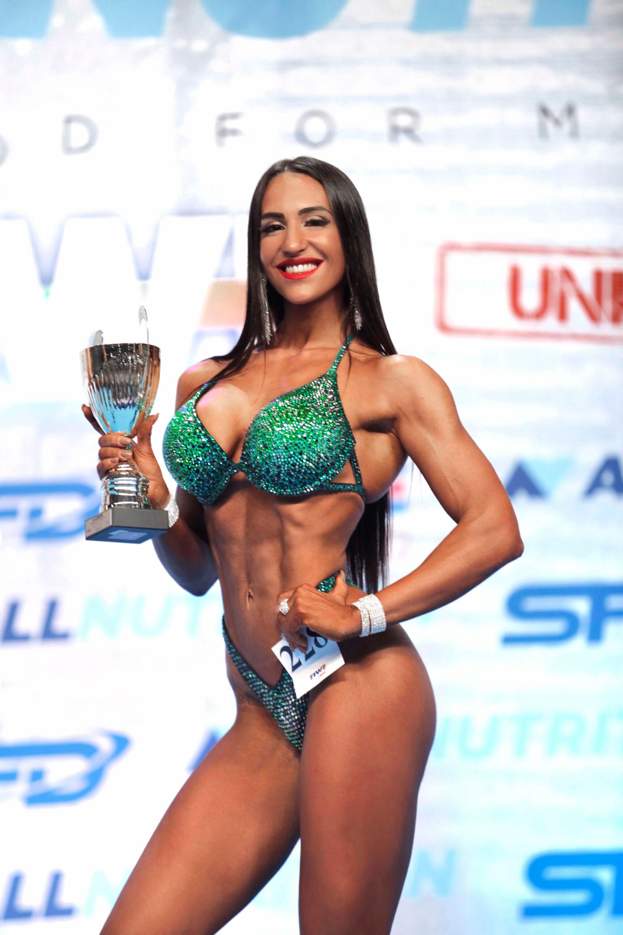 Campeona competición bikini