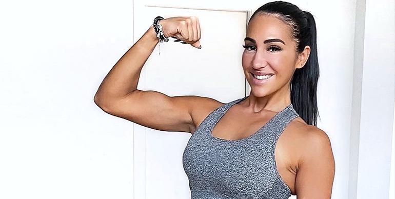 entrenar con pesas te pone grande